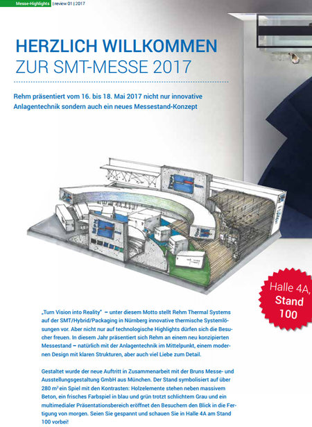 Rehm Thermal Systems Kundenmagazin